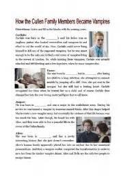 vampires worksheets