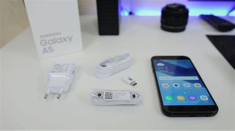 Samsung Galaxy A5 Unboxing samsung galaxy a5 2017 unboxing impresi pertama