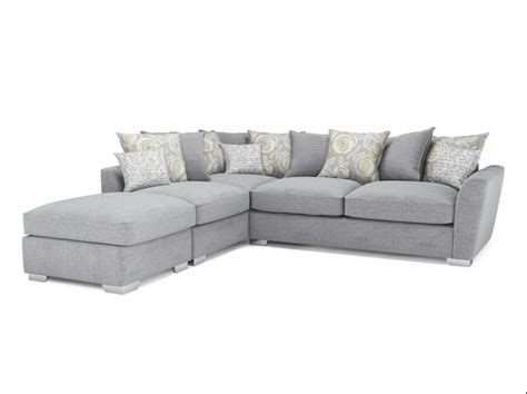 Harvey Norman Fantasia Corner Sofa With Footstool And