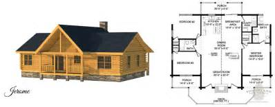 Small Log Cabin Blueprints by Small Log Homes Kits Southland Log Homes