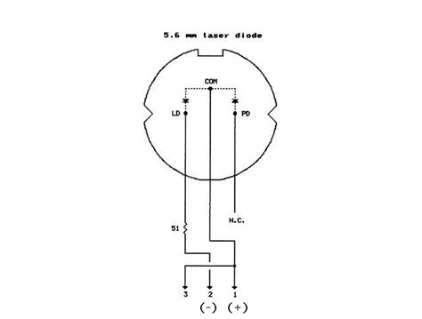laser diode wiring diagram laser pointer audio modulator wiring and mounting a 650nm laser diode