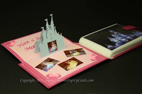disney card templates castle pop up card tutorial creative pop up cards