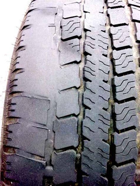 tire wear  indicator  worn suspension parts bmw mini bavarian autosport blog