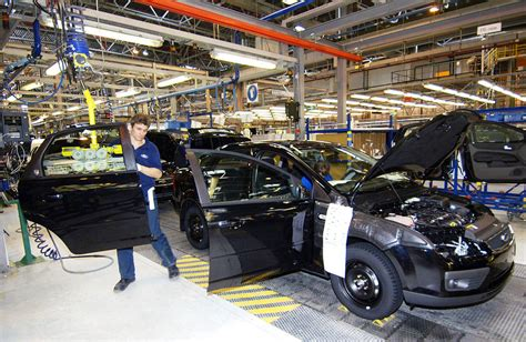 ford car line ford car assembly line photograph by ria novosti