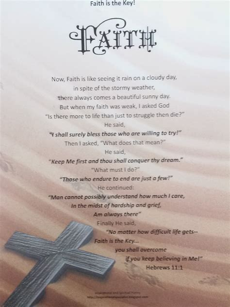 inspirational and spiritual poetry faith poem book
