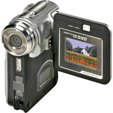 Dxg Release 5 Megapixel Camcorder Dxg 506v In Four Colours Including Black Natch by Dxg 305v Digital Driver Ggettrocks