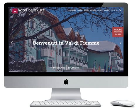 cavalese web hotel bellavista cavalese pensare web siti e commerce