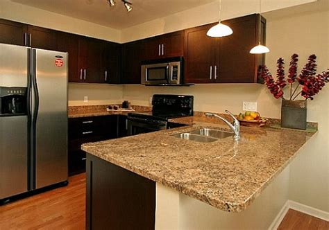 Kitchen countertop materials granite marble kitchen