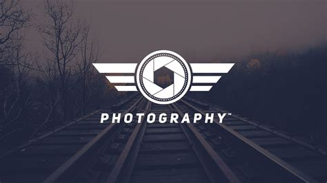 How To Design A Photography Logo In Photoshop Cs6 Youtube Free Photography Logo Templates For Photoshop