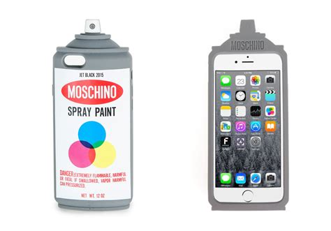Moschino Spray Paint spray paint moschino cover iphone 232 chic