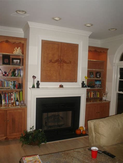 fireplace built ins crafts