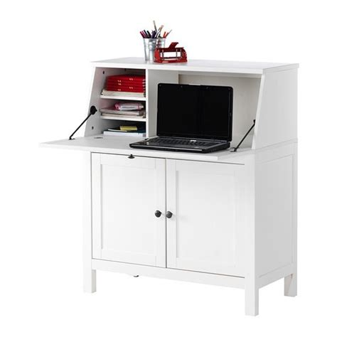 Small White Computer Desk Ikea Hemnes White Ikea For The Home Cable Small Desks And Offices