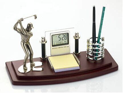 Golf Desk Organizer Wauascbjlg305 Wood Arts Universe Golf Desk Accessories