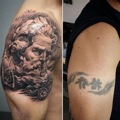 cover tattoos for men shoulder cover up tattoos