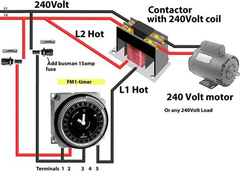 intermatic mechanical timer wiring diagram intermatic