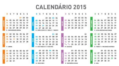 Calendario Gregoriano 2015 Calend 193 2015 Para Imprimir V 193 Rios Tamanhos
