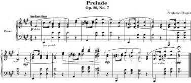 Position Contract Template E Myth by An Exle Of Modern Musical Notation Prelude Op 28 No 7