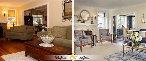 Home Decor Before And After by Before After Lenore Frances Home Interiors