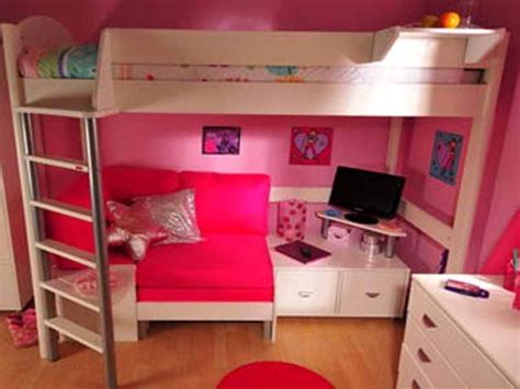 girl bunk beds with desk bunk bed with desk for girls