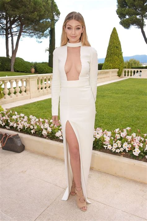 Gigi Hadid Neckline Dress the sexiest dresses of all time 2018 fashiontasty