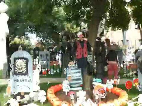 naperville halloween house video of the spookiest front yard halloween display in