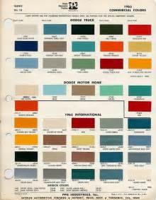 scout colors auto paint codes dodge trucks classic workhorses