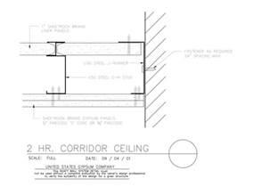 2 hour ceiling 2 hour shaft wall detail car interior design