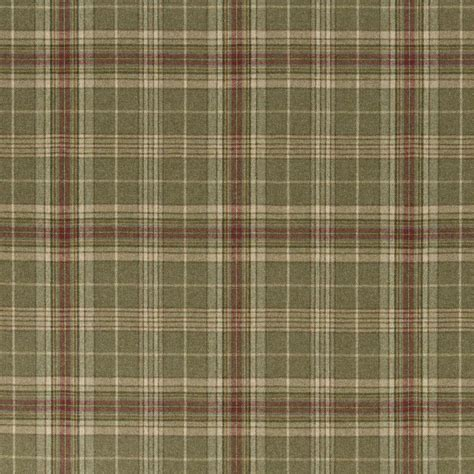Buy Ralph Lauren FRL084/01 Hardwick Plaid Fabric   Signature Country   Fashion Interiors