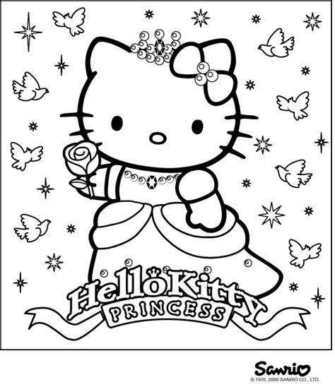 coloring pages printable hello kitty 5 ace images kolorowanka hello kitty 6 hello kitty