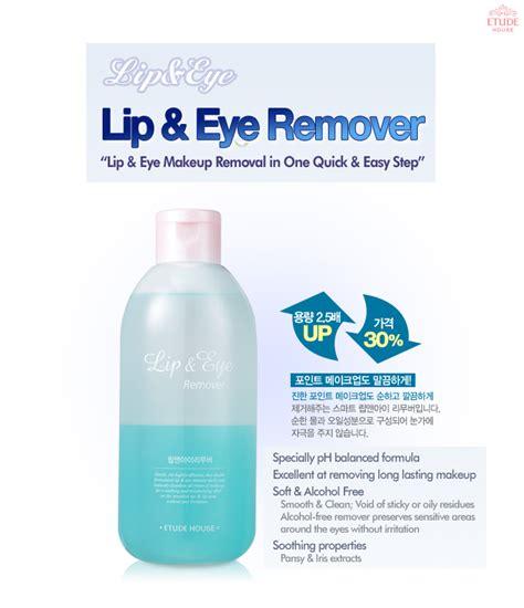 Etude House Lip Eye Makeup Remover Toner Cleansing 100ml new etude house lip and eye make up remover 250ml etude house ebay
