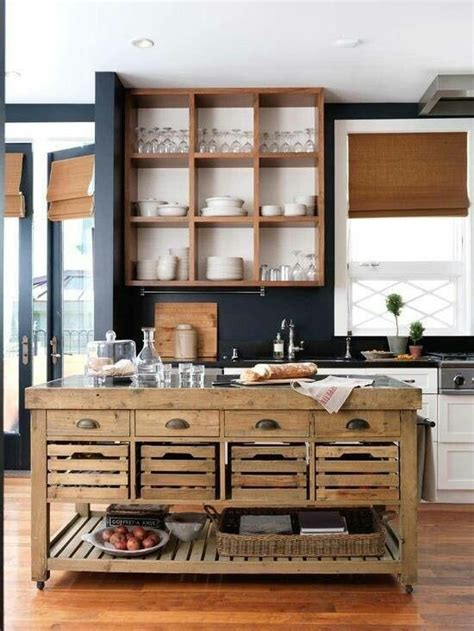 Kitchen Islands On Wheels With Seating by Propuestas De Islas Para La Cocina Con Palets I Love Palets