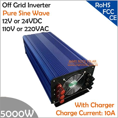 Inverter Luminous Single Phase Inverter Sine Wave 7500va 120v 5000w dc12v 24v ac110v 220v grid sine wave single phase power inverter with charger and