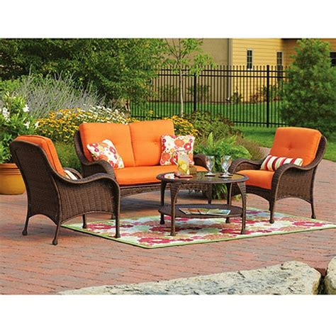 Wicker Patio Set Walmart by Walmart Patio Furniture Ketoneultras