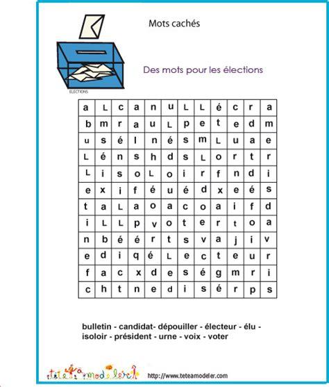 Mots Cach 233 S Sur Les 233 Lection 1 Sur T 234 Te 224 Modeler