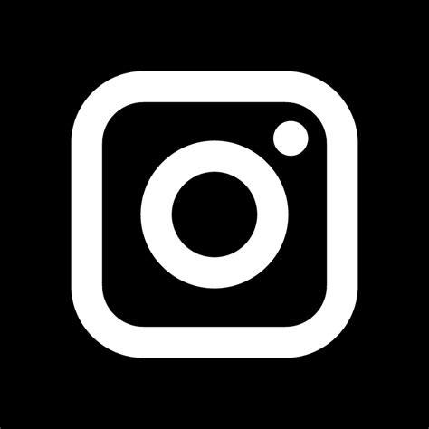 black instagram icon free black social icons instagram icon new black background vector logo free