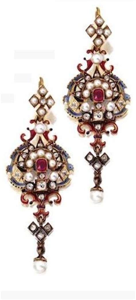 1000 images about renaissance pearl jewelry on 1000 images about revival jewelry on enamels