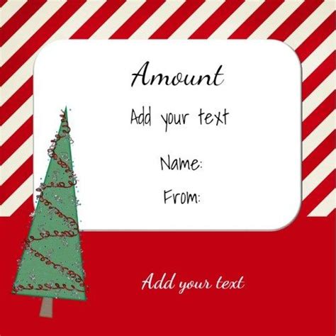 Printable Online Gift Cards - gift certificates gift certificate template and xmas greeting cards on pinterest