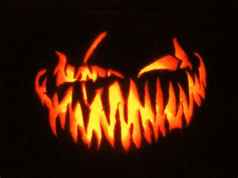 evil pumpkin template 28 best cool scary pumpkin carving ideas