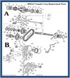 chevy transfer case diagram autos post