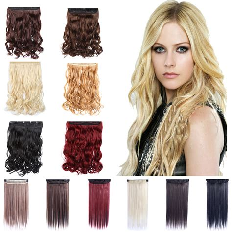 hairclip curly new edition new fashion synthetic hair extensions wavy curly