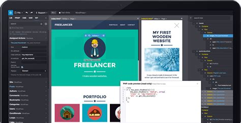 Wordpress Theme Editor Linux | pinegrow web editor website builder for professionals