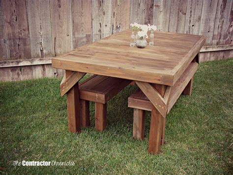 how to build a picnic table and benches pdf diy cedar picnic table plans download cedar bench