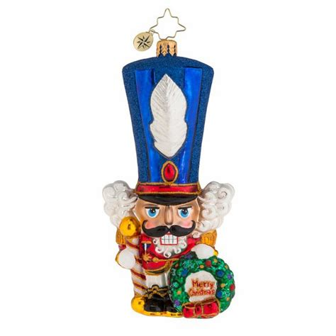 christopher radko ornaments major chapeau ornament by christopher radko
