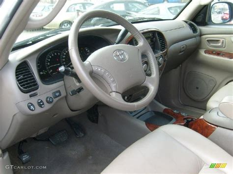 Toyota Sequoia Interior Colors by 2005 Toyota Sequoia Limited 4wd Interior Photo 46726806