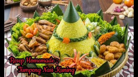 cara membuat nasi kuning dan resepnya resep dan cara membuat tumpeng nasi kuning komplit