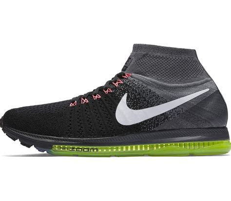 nike knit fly nike zoom all out fly knit s running shoes black