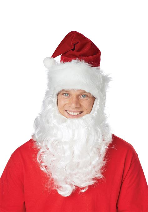 adults only funny santa hat santa hat w attached beard
