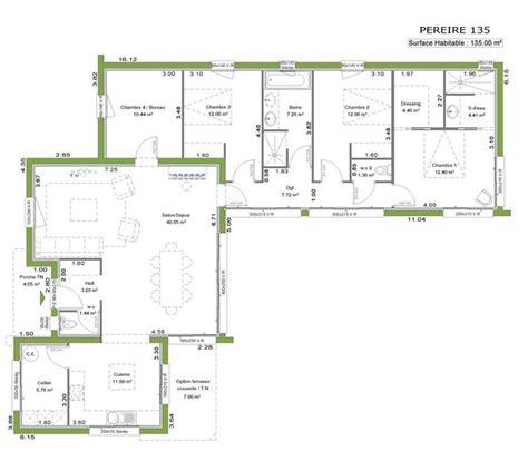 plan maison toit plat 3283 plan maison toit plat plan maison toit plat 110 m ooreka