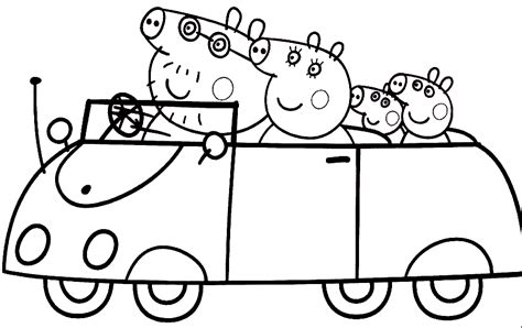 peppa pig drawing templates sgblogosfera mar 237 a jos 233 arg 252 eso coloreamos a pepa pig