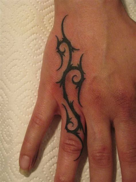 tribal finger tattoo small designs hd amazing